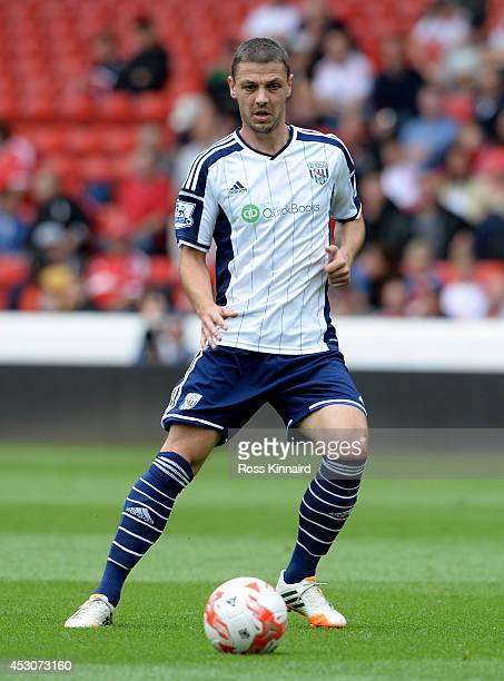 Chris Baird of West Bromwich Albion during the pre season friendly match between Nottingham Forest and West Bromwich Albion at the City Ground on...