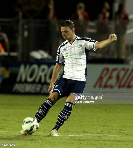 Chris Baird of West Bromwich Albion in action during the friendly match between West Bromwich Albion and Sacramento Republic at Bonney Field on July...
