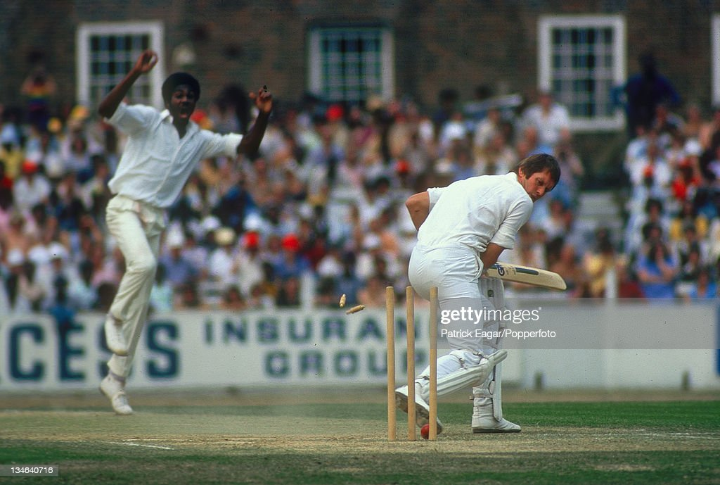 England v West Indies, 5th Test, The Oval, Aug 1976 : News Photo