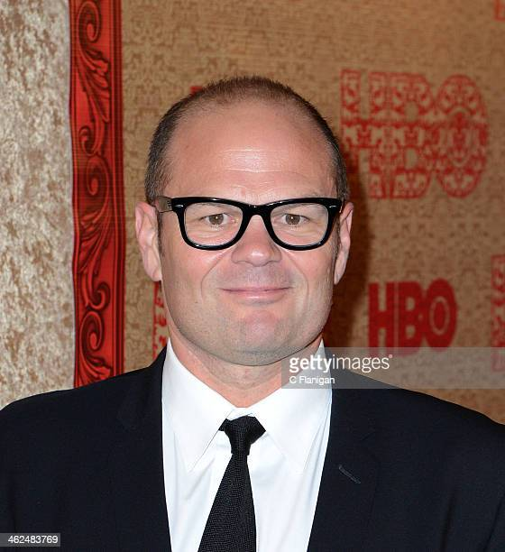 Chris Bauer arrives at the HBO Golden Globe After Party at The Beverly Hilton Hotel on January 12 2014 in Los Angeles California