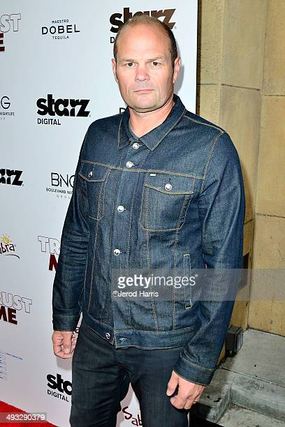 Chris Bauer arrives at the Los Angeles Premiere of 'Trust Me' at the Egyptian Theatre on May 22 2014 in Hollywood California