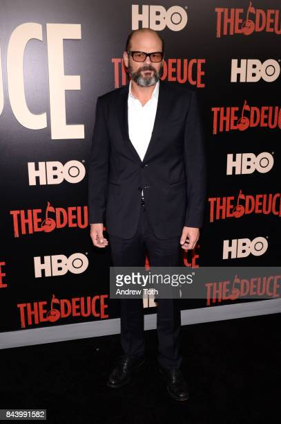 Chris Bauer attends 'The Deuce' New York premiere at SVA Theater on September 7 2017 in New York City
