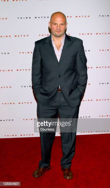 Chris Bauer during Third Watch 100th Episode Celebration Arrivals at Capriani in New York City NY United States