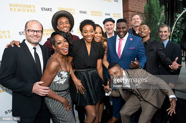 Chris Bauer Tichina Arnold Jessie T Usher Erica Ash Meagan Tandy Mike O'Malley Catfish Jean Allen Maldonado Hilton Smith RonReaco Lee and Victor...