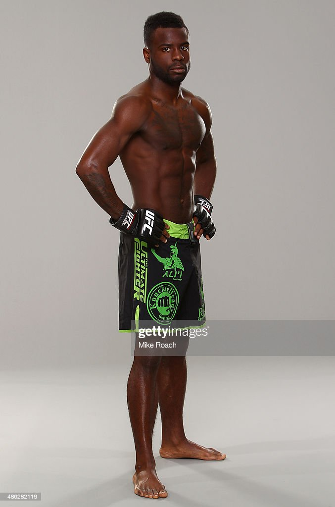 Chris Beal poses for a portrait during a UFC photo session on April 23 2014 in Baltimore Maryland