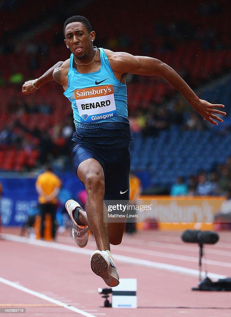 Chris Benard triple jump