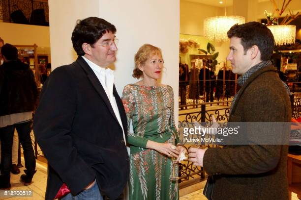 Chris Bentley Wendy Wurtzburger and James Coviello attend Anthropologie Hosts US Book Launch of BLOW BY BLOW at Anthropologie at Rockefeller Center...