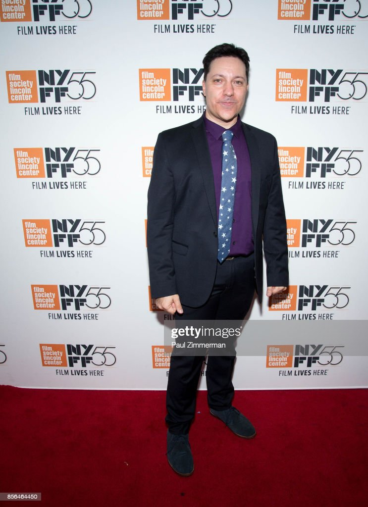 Chris Bergoch attends the 55th New York Film Festival - 'The Florida Project' at Alice Tully Hall on October 1, 2017 in New York City.