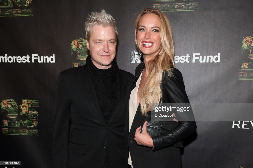 <a gi-track='captionPersonalityLinkClicked' href=/galleries/search?phrase=Chris+Botti&family=editorial&specificpeople=223897 ng-click='$event.stopPropagation()'>Chris Botti</a> (L) and Caroline Campbell attend the after party for the 25th Anniversary concert for the Rainforest Fund at the Mandarin Oriental Hotel on April 17, 2014 in New York City.