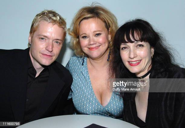 Chris Botti Caroline Rhea and Bebe Neuwirth during Comix Grand Opening September 14 2006 at Comix in New York City New York United States