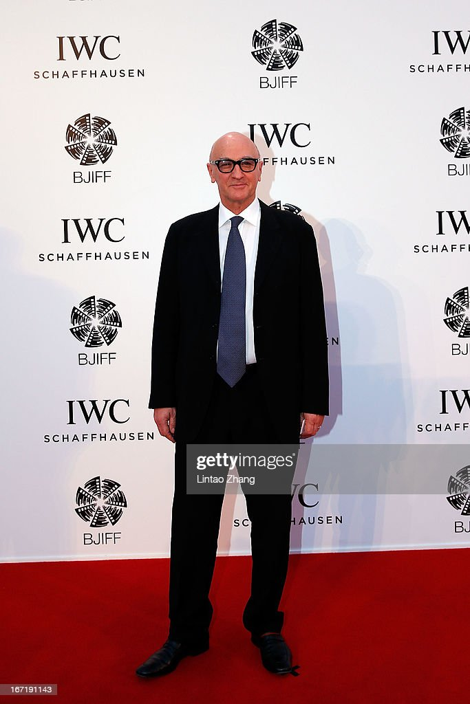 Chris Brown attends the exclusive 'For the Love of Cinema' event hosted by Swiss watch manufacturer IWC Schaffhausen in the role as new sponsor of the Beijing International Film Festival, at the Ming Dynasty City Wall on April 22, 2013 in Beijing, China.