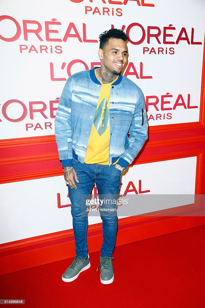 L'Oreal Red Obsession Party - Photocall - Paris Fashion ...