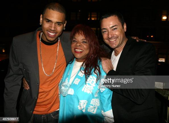 Chris Brown Jamie Foster and James Patrick Herman of InStyle Magazine *EXCLUSIVE*