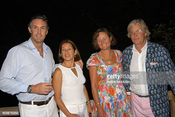 Chris Brown Nancy Shaffer Mimi Halsey and Terry Halsey attend Party to Celebrate the Upcoming Marriage of Pamela Taylor and Eames Yates Hosted by...