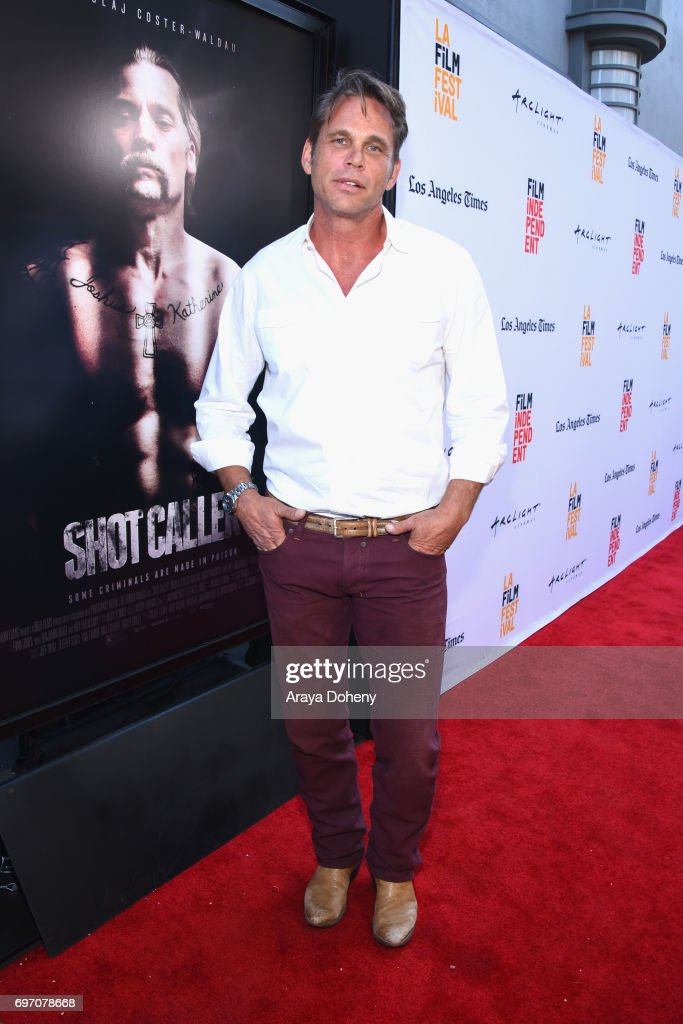 Chris Browning attends the 'Shot Caller' Premiere during the 2017 Los Angeles Film Festival at Arclight Cinemas Culver City on June 17, 2017 in Culver City, California.