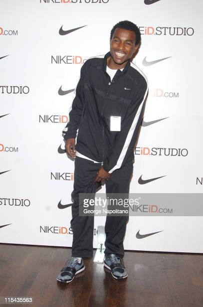 Chris Bryant car jumper extraordinaire at Niketown New York as Nike celebrates the opening of The NIkeID Studio October 20 2007 in New York