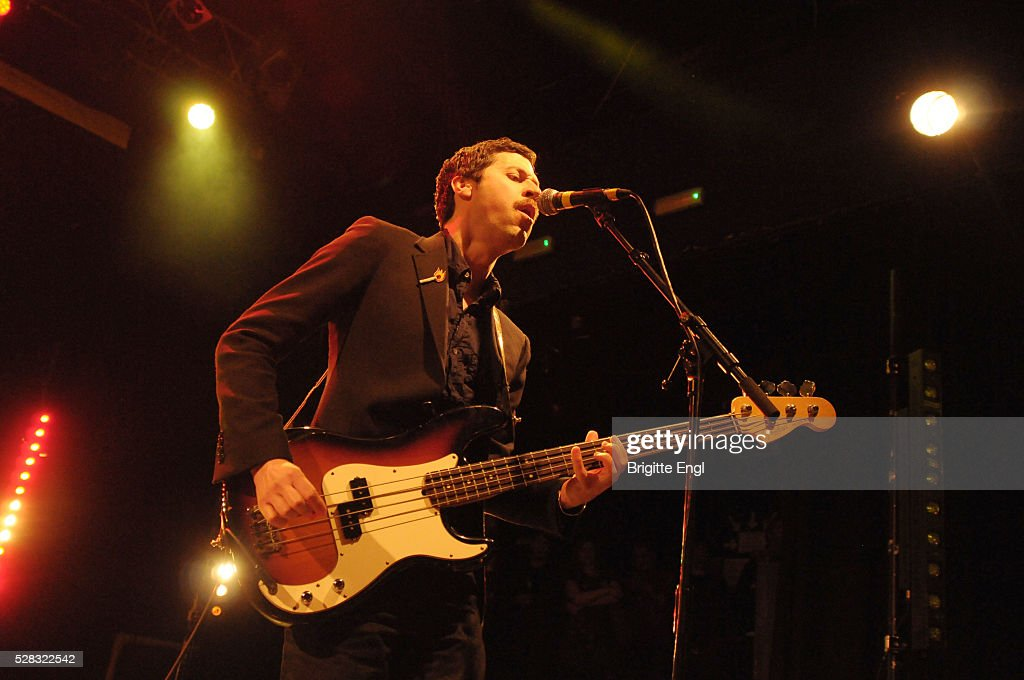 Chris Cain of We Are Scientists perform at KOKO on May 4, 2016 in London, England.