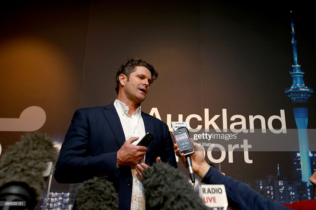 Chris Cairns Press Conference