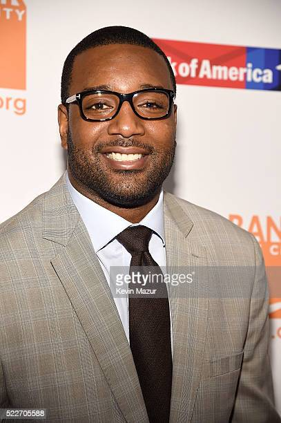 Chris Canty attends Food Bank Of New York City's Can Do Awards 2016 hosted by Michael Strahan and Mario Batali on April 20 2016 in New York City