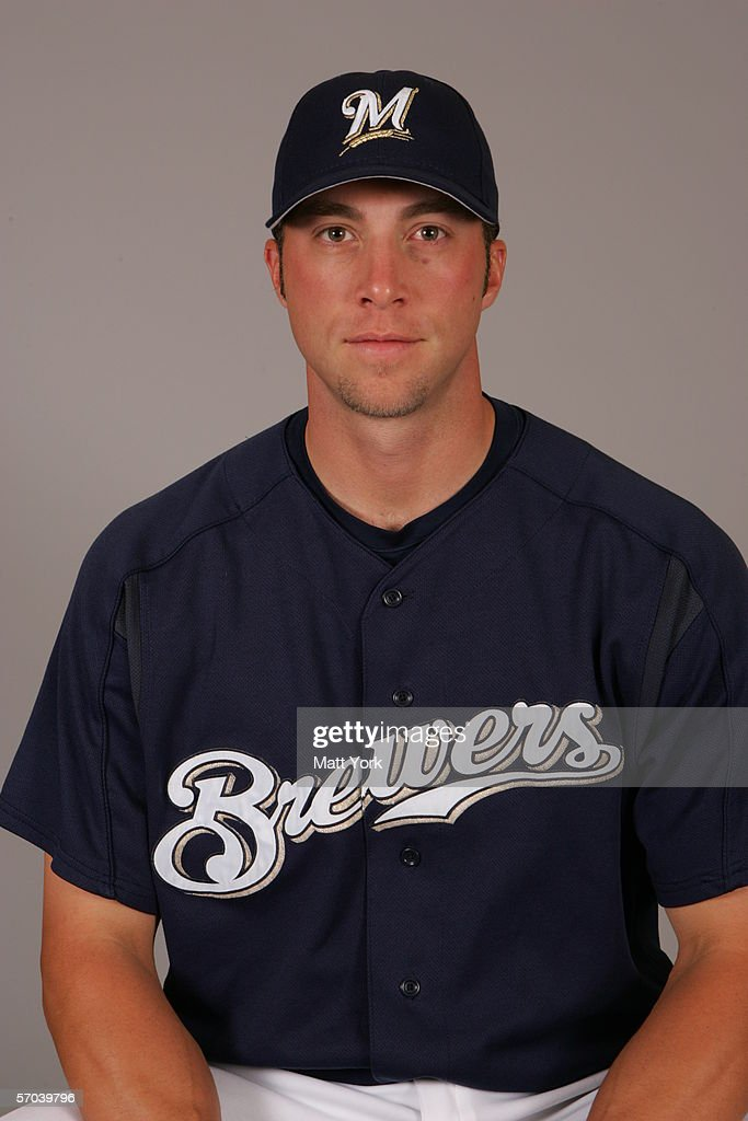 Chris Capuano of the Milwaukee Brewers during photo day at Maryvale Stadium on February 27 2006 in Maryvale Arizona