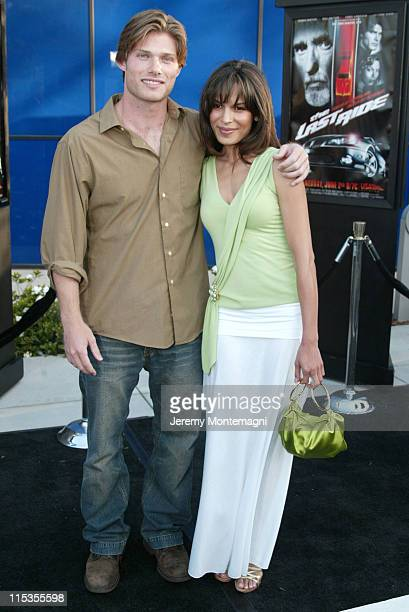 Chris Carmack and Nadine Velazquez during 'The Last Ride' World Premiere Presented by USA Network and Pontiac at Pacific Design Center in Hollywood...