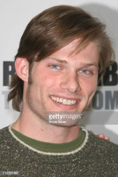 Chris Carmack during The Roundabout Theater Company's 'Entertaining Mr Sloane' Photocall at Roundabout Rehearsal Space in New York City New York...