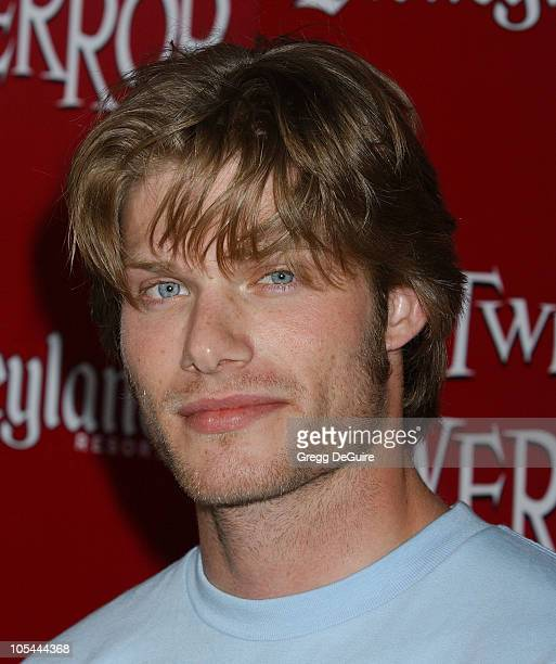 Chris Carmack during The Twilight Zone Tower of Terror Opens at Disney's California Adventure at California Adventure in Anaheim California United...