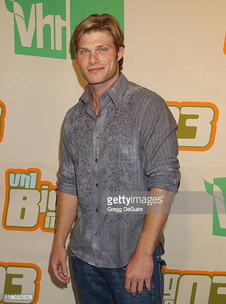 Chris Carmack during VH1 Big In '03 Arrivals at Universal Amphitheater in Universal City California United States