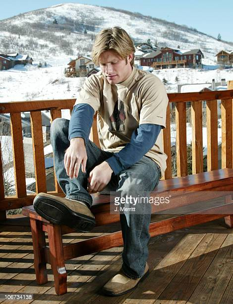 Chris Carmack of the OC with Hush Puppies *Exclusive*