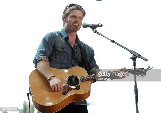 Chris Carmack performs onstage during day two of 2015 Stagecoach California's Country Music Festival at The Empire Polo Club on April 25 2015 in...
