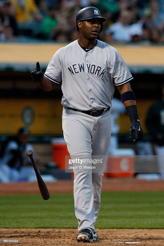 Image result for chris carter yankees striking out