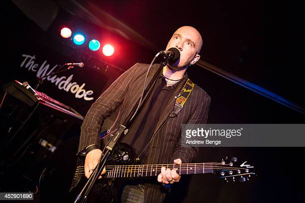 Chris Catalyst performs on stage at The Wardrobe on July 29 2014 in Leeds United Kingdom