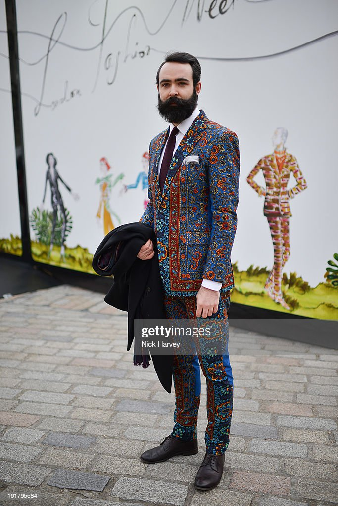 Chris Chasseaud during London Fashion Week Fall/Winter 2013/14 at Somerset House on February 16, 2013 in London, England.