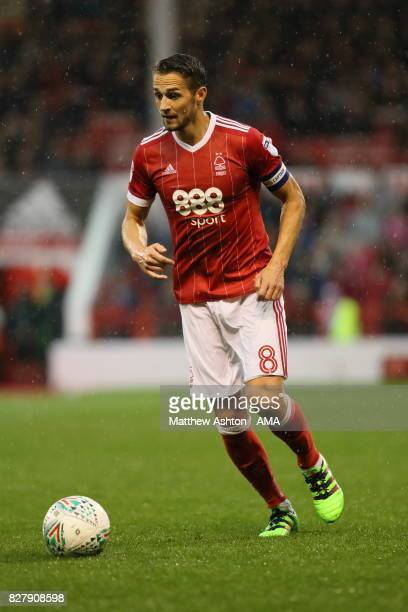 Chris Cohen of Nottingham Forest during the game after the Carabao Cup First Round match between Nottingham Forest and Shrewsbury Town at City Ground...