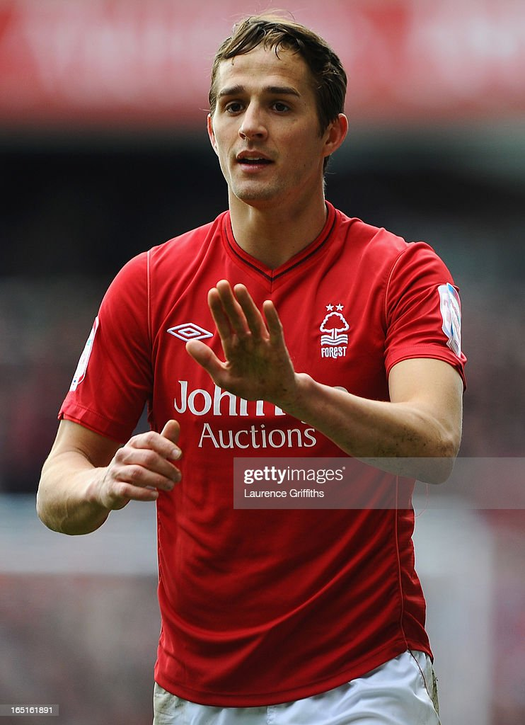 Chris Cohen of Nottingham Forest in action during the npower Championship match between Nottingham Forest and Brighton and Hove Albion at City Ground on March 30, 2013 in Nottingham, England.