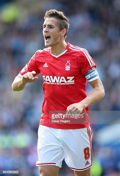 Chris Cohen of Nottingham Forest looks on during the Sky Bet Championship match between Sheffield Wednesday and Nottingham Forest at Hillsborough...