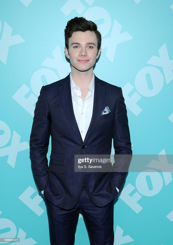 Chris Colfer attends FOX 2103 Programming Presentation Post-Party at Wollman Rink - Central Park on May 13, 2013 in New York City.