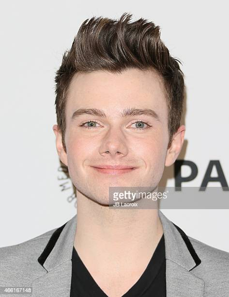 Chris Colfer attends The Paley Center for Media's 32nd annual PALEYFEST LA 'Glee' at Dolby Theatre on March 13 2015 in Hollywood California