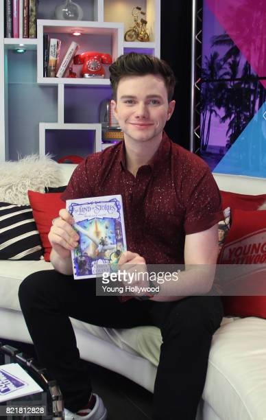 Chris Colfer visits the Young Hollywood Studio on July 24 2017 in Los Angeles California