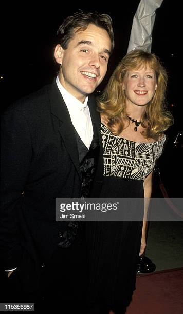 Chris Columbus And Wife during 'Mrs Doubtfire' Los Angeles Premiere at Academy Theater in Beverly Hills California United States