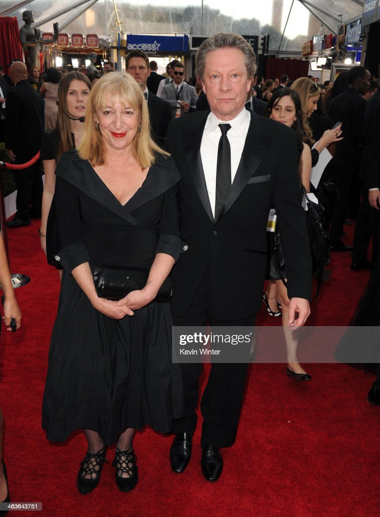 <a gi-track='captionPersonalityLinkClicked' href=/galleries/search?phrase=Chris+Cooper+-+Actor&family=editorial&specificpeople=5506020 ng-click='$event.stopPropagation()'>Chris Cooper</a> (R) and Marianne Leone attend 20th Annual Screen Actors Guild Awards at The Shrine Auditorium on January 18, 2014 in Los Angeles, California.