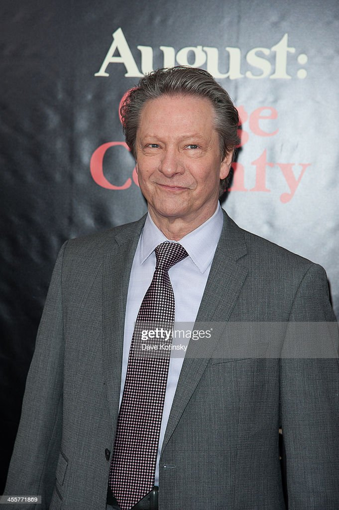 Chris Cooper attends the 'August: Osage County' premiere at Ziegfeld Theater on December 12, 2013 in New York City.