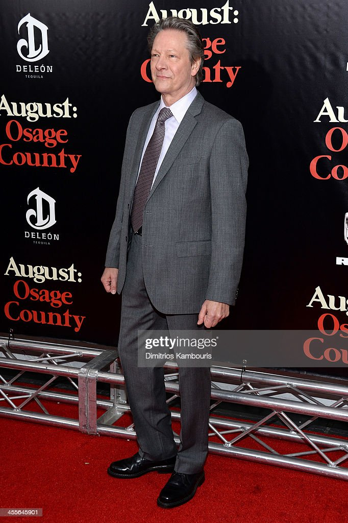 Chris Cooper attends the premiere of