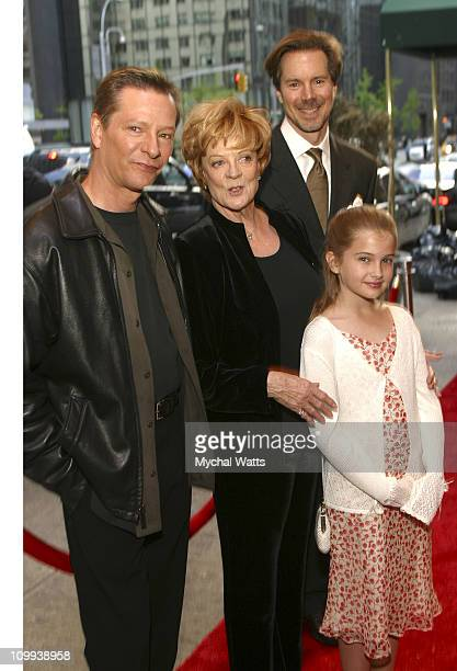 Chris Cooper Emmy Clarke and Dame Maggie Smith during HBO Films My House in Umbria Premiere at Sutton Theater NYC in New York City New York United...