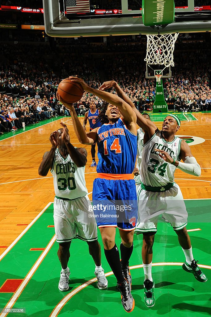 <a gi-track='captionPersonalityLinkClicked' href=/galleries/search?phrase=Chris+Copeland&family=editorial&specificpeople=833969 ng-click='$event.stopPropagation()'>Chris Copeland</a> #14 of the New York Knicks drives to the basket against the Boston Celtics on March 26, 2013 at the TD Garden in Boston, Massachusetts.