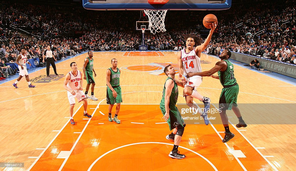 <a gi-track='captionPersonalityLinkClicked' href=/galleries/search?phrase=Chris+Copeland&family=editorial&specificpeople=833969 ng-click='$event.stopPropagation()'>Chris Copeland</a> #14 of the New York Knicks goes to the basket against the Boston Celtics on March 31, 2013 at Madison Square Garden in New York City.