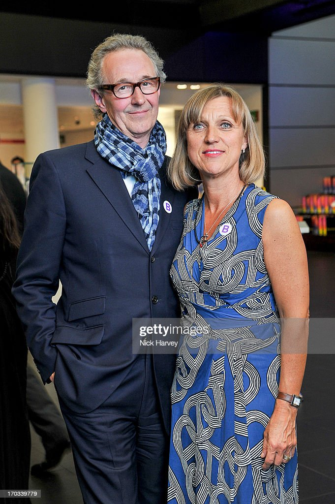Chris Corbin and Francine Corbin attend the Luxury Briefing Awards on June 11, 2013 in London, England.