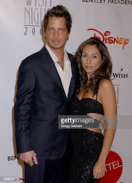 Chris Cornell and wife during Wish Night 2006 Awards Gala Arrivals at Beverly Hills Hotel in Beverly Hills California United States