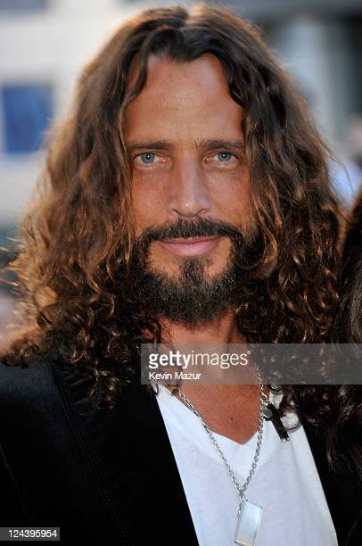 Chris Cornell arrives to the 'Moneyball' premiere at Roy Thomson Hall during the 2011 Toronto International Film Festival on September 9 2011 in...