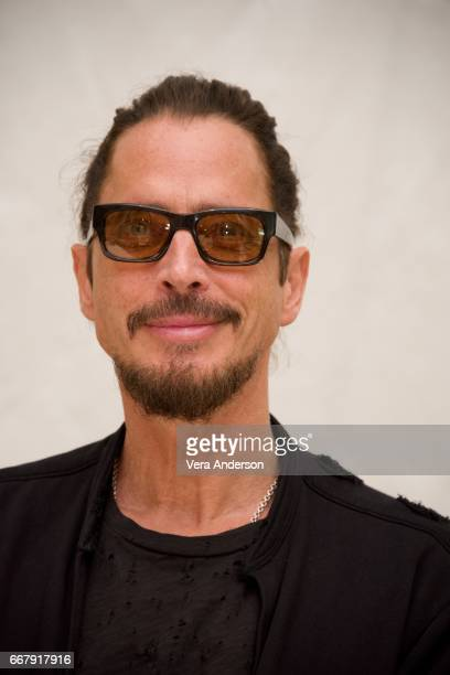 Chris Cornell at 'The Promise' Press Conference at the Four Seasons Hotel on April 12 2017 in Beverly Hills California